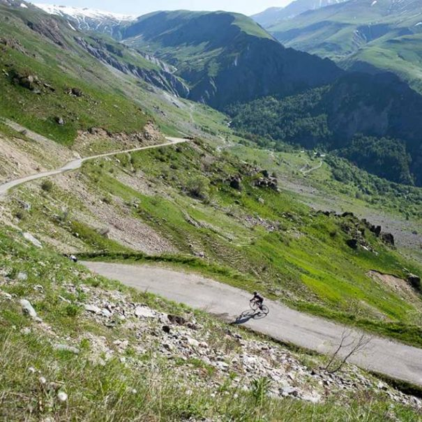 Cycling the best Tour de France passes in the French Alps