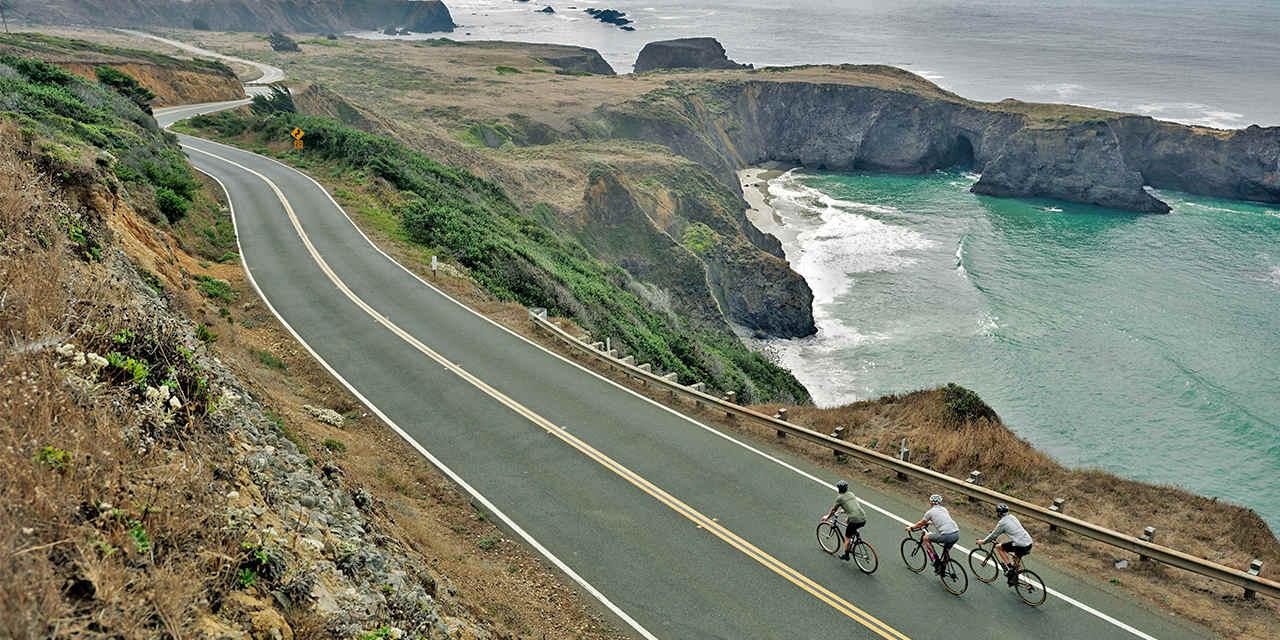 Cycling tour in California