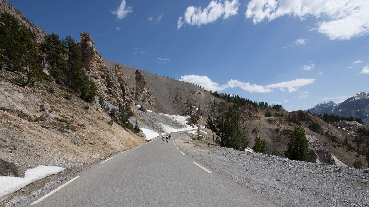Cycling on Tour de France routes