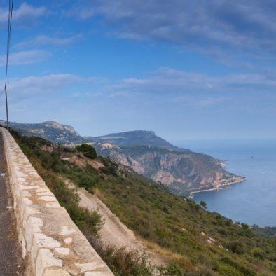 Cycling above Mediteranean sea