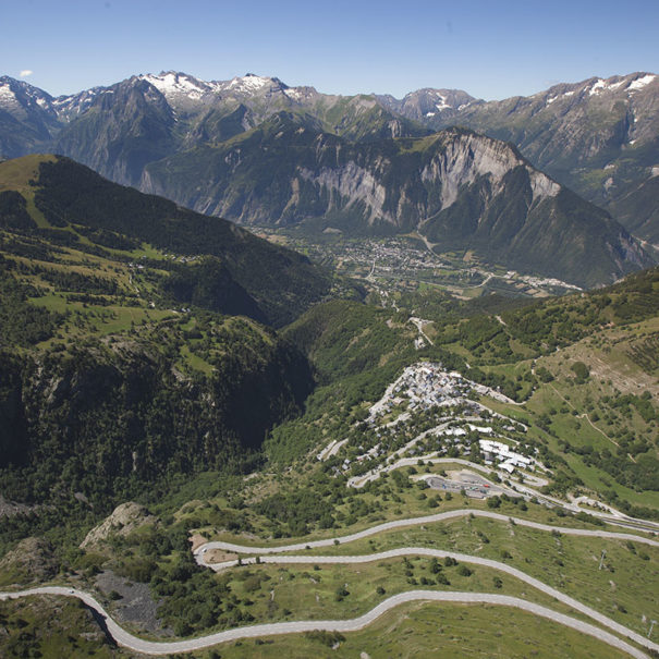 Cycling HAute Route Alpe d'Huez