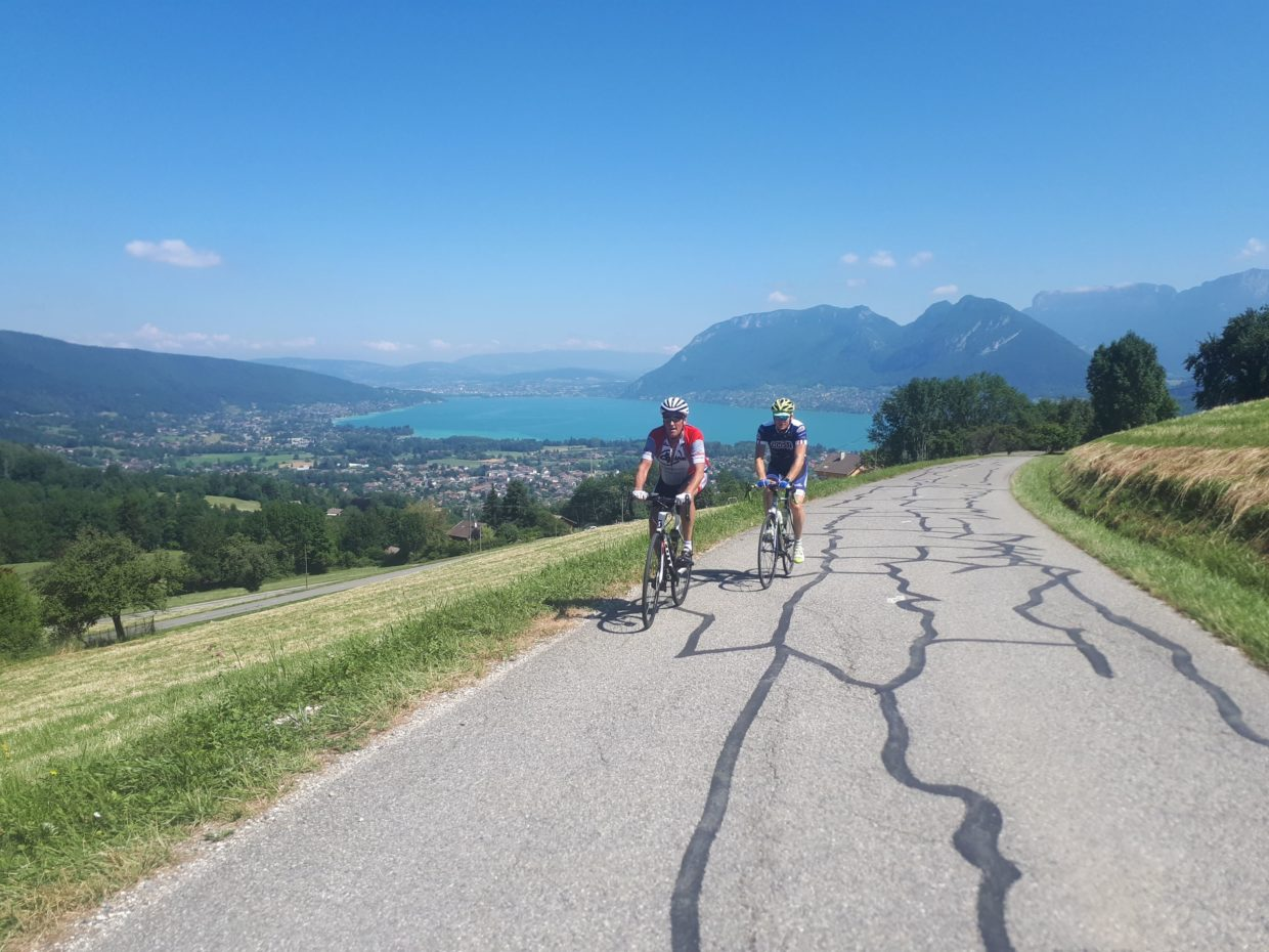 Cycling Annecy